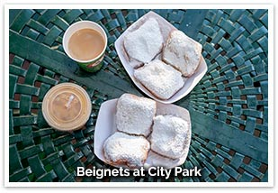 Beignets at City Park